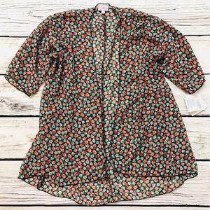 🆕 LuLaRoe Bianka kimono blue/pink floral